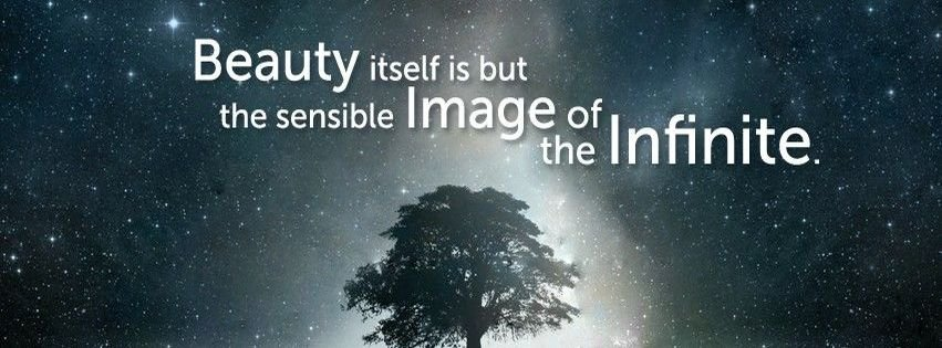 Beauty itself is but the sensible image