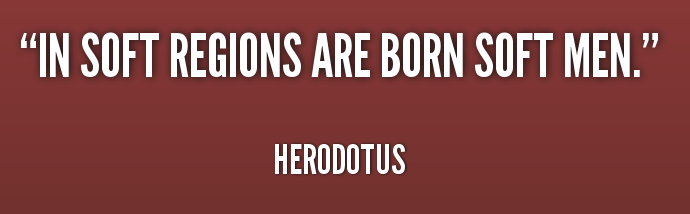 quote-Herodotus-in-soft-regions-are-born-soft-men-244248